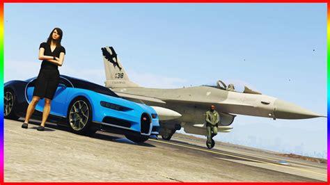 Eurofighter typhoon vs bugatti veyron. BUGATTI CHIRON vs F-16 FIGHTER JET 4K UHD (Grand Theft Auto V Mod Funny Moments) - YouTube