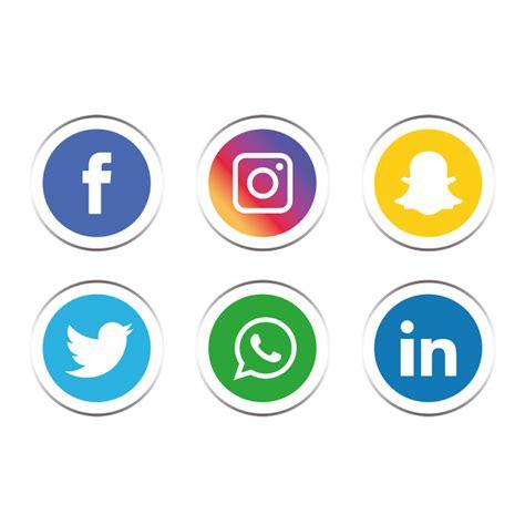 Social Media Icons Vector Social Media Icons Set Social Media Icon Png And Vector