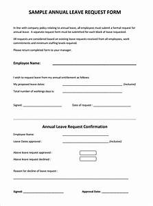 Sample leave request forms thecheapjerseys Choice Image