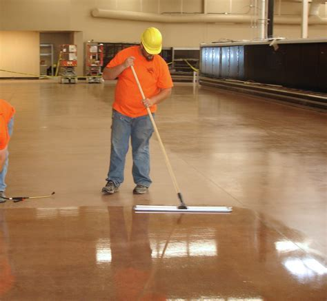 Concrete floor polish Duro Polish is water based with