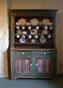 IRISH DRESSER Old Irish Dresser Irish Cottage