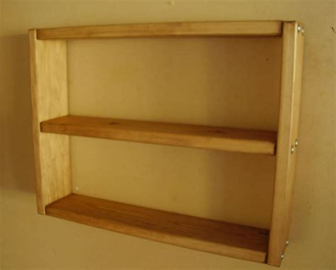 Wood Wall Shelves by Solid Wood Wall Shelves Crafted 3 Colour Choices Ebay