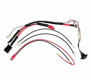 36 Volt Battery Wiring Harness With Charge Inhibitor For