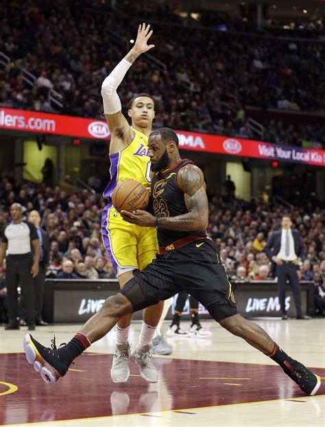lebrons triple double helps cavaliers  lakers