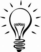 Light Bulb Coloring Getcolorings Pages sketch template
