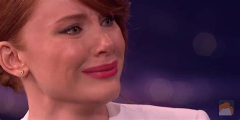 bryce dallas howard cries  command  talking home