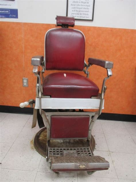 barber chair headrest shop collectibles daily