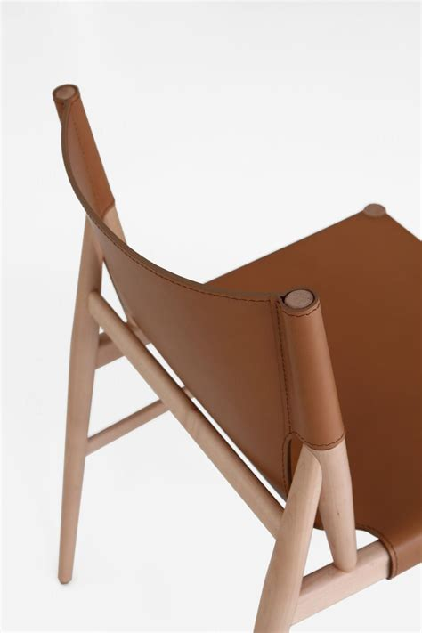 Stuhl Skandinavisches Design by Scandinavian Design Chair Leather Solid Wood Voyage