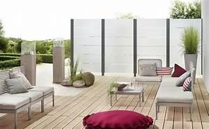 Garten sichtschutzzaun sichtschutz glas for Garten planen mit wind und sichtschutz balkon