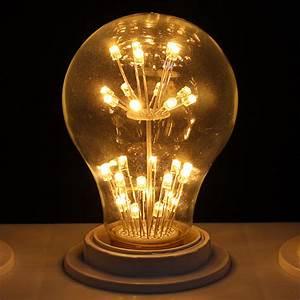 Nostalgie Dimmbar E27 E14 Edison Retro LED Lampe Glühbirne