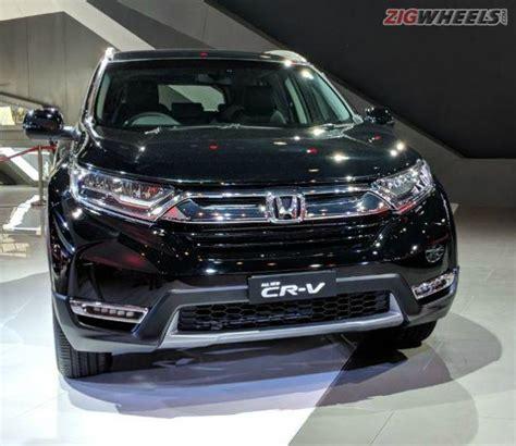 honda cvr price in india honda cr v showcased at auto expo 2018 zigwheels