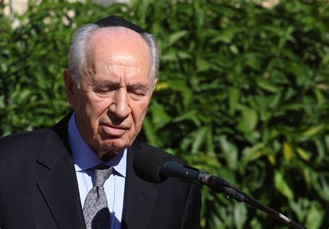 Shimon Peres Reminds Us of Burning Bodies in Qana: British