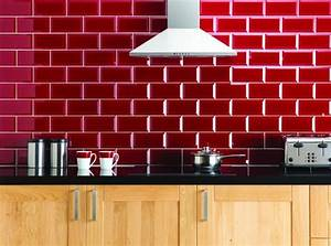 credence pour cuisine stylee en 25 exemples modernes With revetement mural cuisine credence