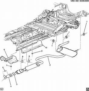 2006 Pontiac G6 Gasket  Pipe  Exhaust  Converter  2 4