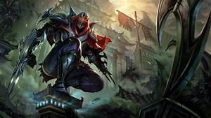 Zed League of Legends u4 Wallpaper HD