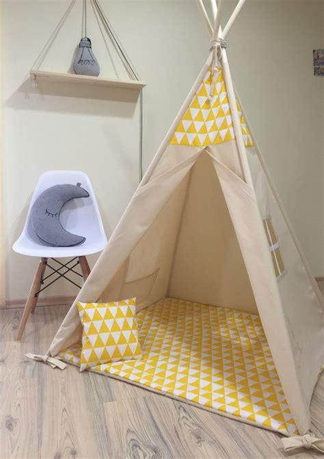 Tipi Zelt Kinderzimmer Dawanda by Weiteres Stoffzelt Spielzelt Tipi Ein