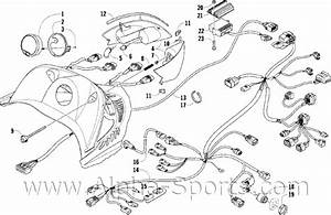 2003 Arctic Cat 400 Parts Diagram