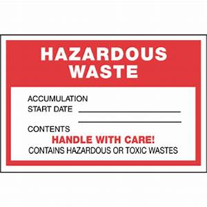 hazardous waste label 6quot x 4quot thermalabel blank icc With hazardous waste label template