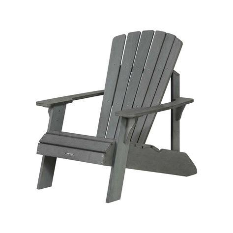 polystyrene patio furniture collection adirondack polystyrene 60204 plastic grey weather