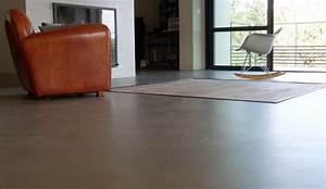 Beton Cire Deco : du b ton cir au sol dans toutes les pi ces ~ Premium-room.com Idées de Décoration