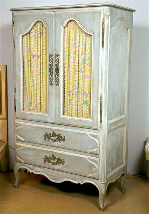 painting wardrobes shabby chic shabby chic painted armoire at 1stdibs