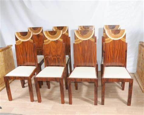 Esszimmer Le Bronze by Deco Set Esszimmerst 252 Hle Inlay Chair 1920er Jahren M 246 Bel