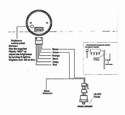 Temp Gauge Digital Exhaust Gas Install Dual
