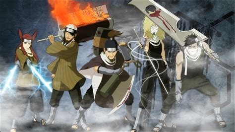 Anime Swordsman Wallpaper - seven swordsmen wallpaper shippuden by edd000