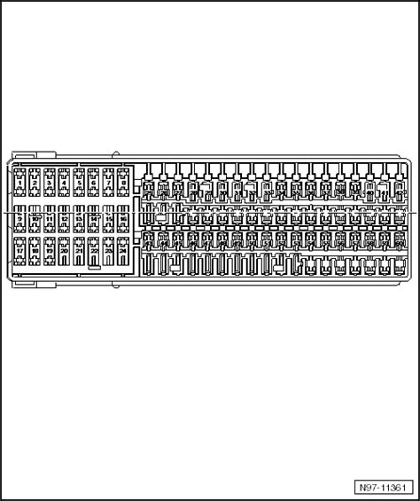 volkswagen jetta  layout   fuse box needed