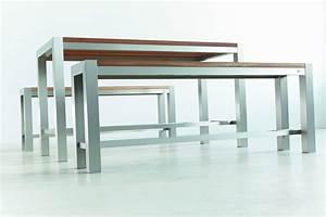 Hochtisch Küche : hochbank f r bartisch hochtisch aluminium eiche massiv design ~ Pilothousefishingboats.com Haus und Dekorationen