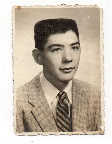 Flat Top Hairstyles 1950s by Vintage Photo Handsome Boy Cool Flat Top Haircut