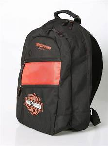 Harley Davidson Rucksack Wasserdicht : harley davidson rucksack day pack orange schwarz im ~ Jslefanu.com Haus und Dekorationen