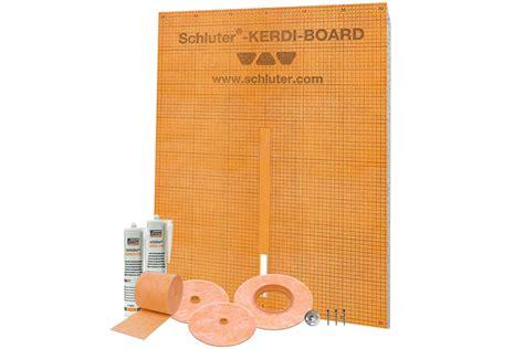schluter systems kerdi board kit  tile