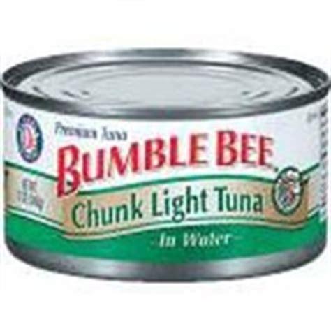 bumble bee chunk light tuna bumble bee chunk light tuna in water calories nutrition