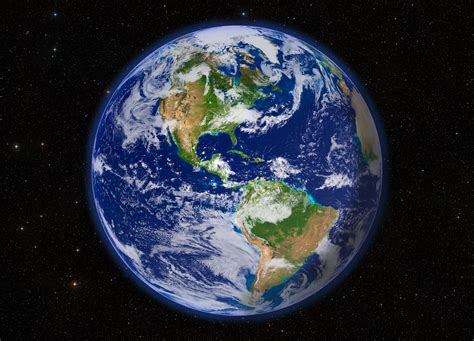 Images Of Earth From Space Earth From Space Western Hemisphere