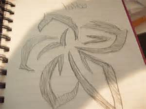 Tribal Flower Tattoo Drawings