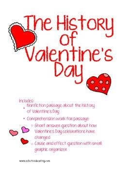 history  valentines day reading comprehension