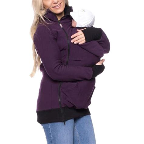 baby carrier sweater baby carrier hoodie kangaroo coat jacket for and baby