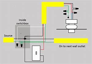 Wiring Diagram Ceiling Light Options