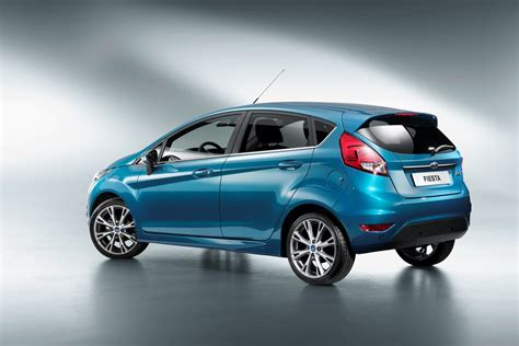 2013 Ford Fiesta Gets A Facelift And New Tech, Pictures