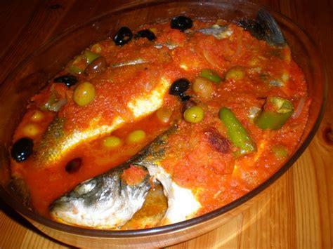 cuisine tunisienne poisson poissons au four a la tunisienne tellement bon