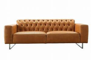 Couch Leder Cognac : kasper wohndesign sofa aus recyceltem leder cognac luca online kaufen otto ~ Frokenaadalensverden.com Haus und Dekorationen