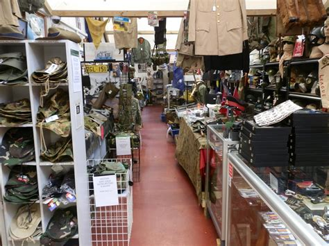 Collectables Store by Aaa Army Surplus Collectables Disposal Stores E Shed