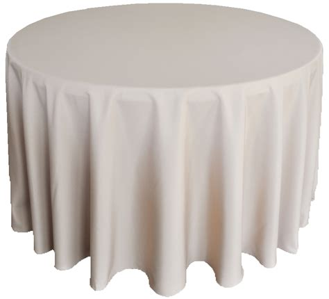 90 inch round polyester tablecloth chagne table linens