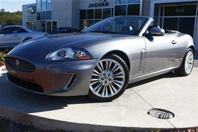 amazing used jaguar buy used 2010 jaguar xk convertible 1 owner florida