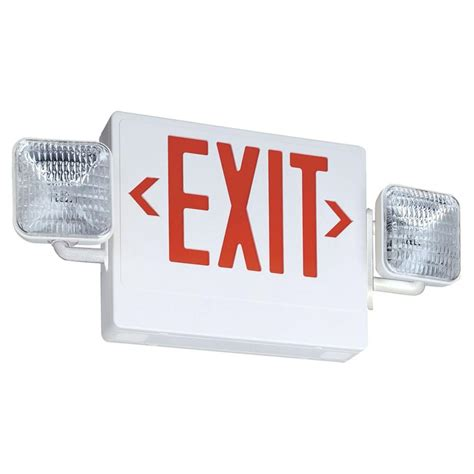 led exit lithonia lighting contractor select thermoplastic led
