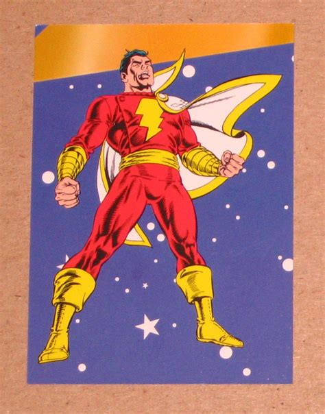 Over 1 billion installs and counting. DC Stars (SkyBox 1994) Puzzle Card P7- Shazam (Captain Marvel) EX