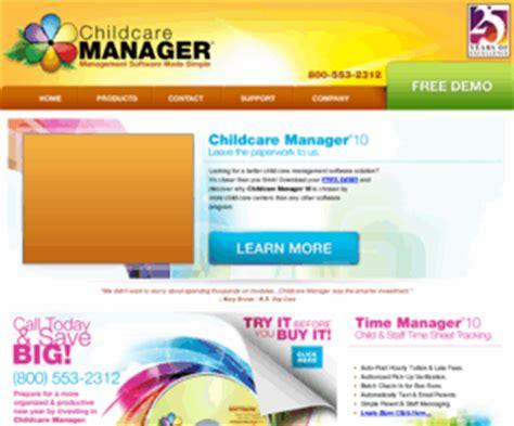 childcaremanagercom child care management software