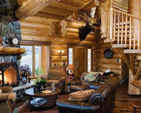 log cabin designs top 60 best log cabin interior design ideas mountain