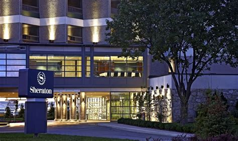 montreal sheraton airport hotel exterior canada hotels quebec